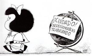 Mafalda cuidado tierra